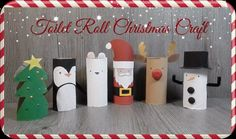 christmas crafts using toilet paper rolls