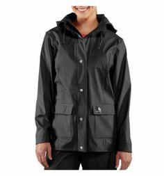 Carhartt Men/'s Big /& Tall Medford Rain Defender Pant Black *Retail $80
