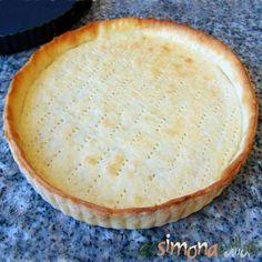 Tart Crust Recipe, Tart Dough, Pita, Savory Tart, Fruit Tart, French Pastries, Sweet Tarts, Dessert Recipes, Desserts