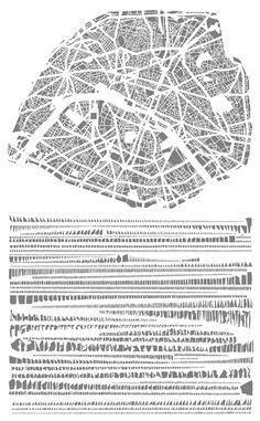 Tout Bien Rangé by Armelle Charon    Paris dissected and arranged neatly