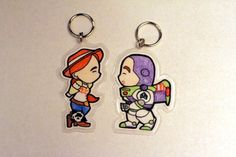 Jessie and Buzz Lightyear----Is this shrink plastic?? Cute