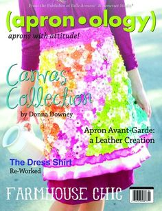 Magazine to check out and it's all about aprons!