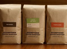 Stumptown Coffee on Packaging of the World - Creative Package Design Gallery