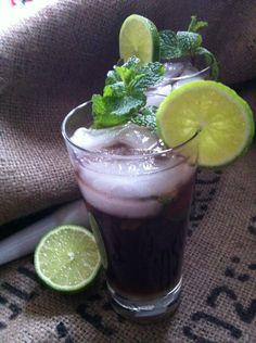 Pomegranate Mojitos #cocktail #drink