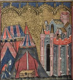 Bodleian Library MS. Bodl. 264, The Romance of Alexander in French verse, 1338-44; 83v