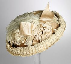 ~Hat, 1880~    via The Los Angeles County Museum of Art.