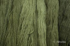 Riihivilla, Dyeing with natural dyes: Velvet Pax experiments Samettijalkakokeiluja