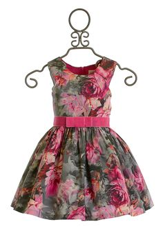 Zoe LTD Mod Gray Floral Dress                                                                                                                                                                                 Mais
