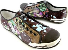 $85 Ed Hardy Ellerise Women's Canvas Shoes Sneakers listed now under 25. Def Planet