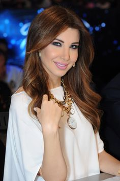 Share today's celebrity birthdays, zodiacs and names of the famous celebrities who share your birthday. Arab Celebrities, Celebs, Arab Actress, Nancy Ajram, Arabian Beauty, Brunette Hair, Pretty Hairstyles, Natural Hair Styles, Hair Makeup