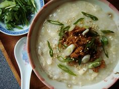 Chicken Bean Curd Congee