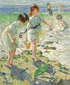"Dorothea Sharp, ""At the Beach"""