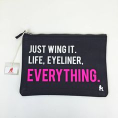 Fun, Slogan Make Up Bag for any Beauty Addict!