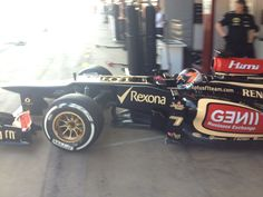 Twitter / Lotus_F1Team : And back out again. For a timed ...