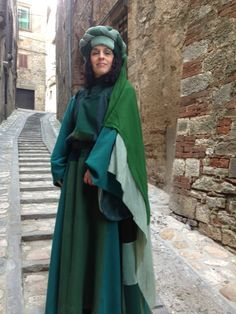 Costumed for the Medieval Tour, March 2013