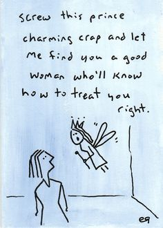 words of wisdom e9Art ACEO Cinderella Prince Charming Fable Fairy Tale Art Painting Cartoon Humor LGBTQ