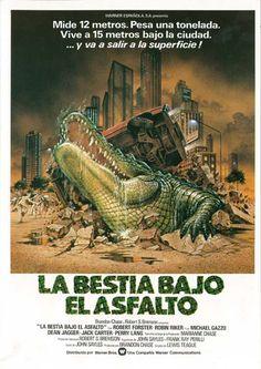 """La bestia bajo el asfalto (1980) """"Alligator"""" de Lewis Teague - tt0080354"""