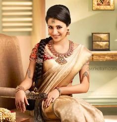south indian saree follow us at http://www.pinterest.com/nricouple/