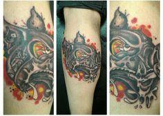 Made by Dan Palmer from Tattoo World Langå