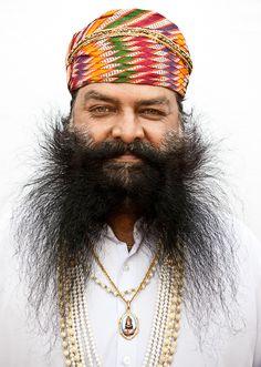 Udaipur faces, Rainer Hosch
