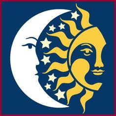 Sun Cross Stitch Sun Sun Silhouette Avant by NewYorkNeedleworks Sun Moon Stars, Sun And Stars, Sun Painting, Fabric Painting, Star Stencil, Stencils, Sun Silhouette, Moon Time, Sun Art