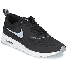 AIR MAX THEA Schwarz / Grau-Anthrazit-Weiß Schuhe von #Nike. Preis: 118,99 €. Sportliches schickes design #sneaker  #nikeschuhedamen #nikeherrenschuhe