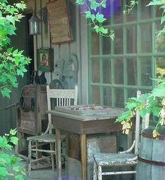 love this even for the shed porch...