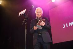 June 19 2019 - Jimmy Page gets The Kerrang! Icon Award in London. Skunk Anansie, Phil Campbell, Twickenham Stadium, Houses Of The Holy, Kelly Osbourne, June 19, Jimmy Page, Present Day, Led Zeppelin
