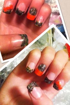 Duck Dynasty much?! Camo nails!