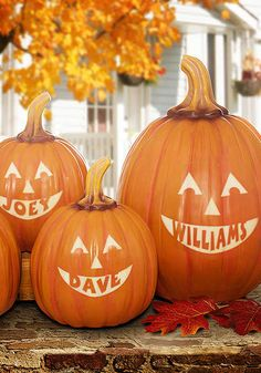 Cute pumpkin idea