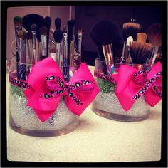 Fairy Gift-packing Ultra-soft Bristles Make Up Brush Kit Face Foundation Blush Concealer Beauty Tools - Pink Gradient - Cute Makeup Guide Makeup Brush Storage, Makeup Brush Holders, Makeup Organization, Beauty Make Up, Diy Beauty, Beauty Hacks, Beauty Tips, Cute Makeup, Diy Makeup