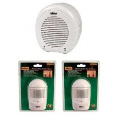 SafeFamilyLife Electronic Barking Dog Alarm - 2 Motion Sensors