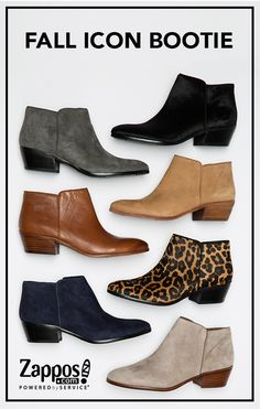 a4ca26b48 Fall's classic boot is the Sam Edelman Petty, a street style icon! It's  versatile