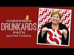 Make a Cornered Drunkard's Path Quilt with Jenny!