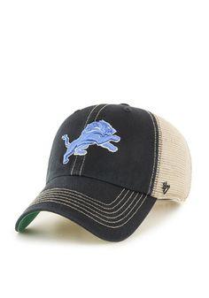 '47 Detroit Lions Mens Blue Trawler Adjustable Hat