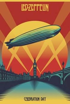 Led Zeppelin were an English rock band formed in London in The group consisted of guitarist Jimmy Page, singer Robert Plant, bassist and keyboardist John Paul Jones, and drummer John Bonham. Rock Posters, Band Posters, Hippie Posters, Rock And Roll, Pop Rock, Rock Album Covers, Music Album Covers, Jimmy Page, Robert Plant