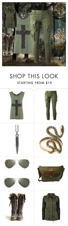 """""""Set #1206 - Seemed Like A Good Idea At The Time"""" by the-walking-doctor ❤ liked on Polyvore featuring CYCLE, Deadly Ponies, Ileana Makri, Ray-Ban and Modström"""