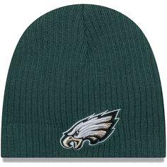 61c83457f Infant Philadelphia Eagles New Era Midnight Green Mini Fan Knit Beanie