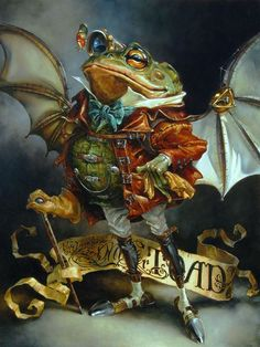 Heather Theurer | The Insatiable Mr. Toad