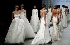 La Barcelona Bridal Week canvia de nom i d'ubicació.  #RosaClara #Vestit #BridalWeek #Boda #Blanc #Moda #Estil