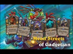 Hearthstone: Mean Streets of Gadgetzan: Opening Packs
