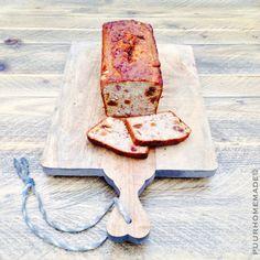 Noten-vruchtenbrood - Puur Homemade by Cilla Tibbe- www.puurhomemade.nl