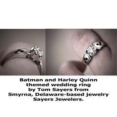 OMG a Harley Quinn engagement ring Harley Quinn Pinterest
