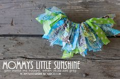 Fabric Tutu Tutorial!!! ADORABLE! This is a really simple tutorial that requires no sewing and uses fabric scraps that you already have!