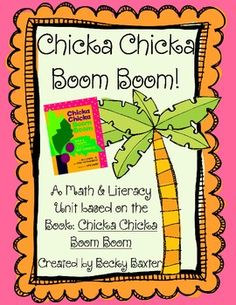 This unit is based on the book Chicka Chicka Boom Boom.  It is perfect for getting back to school!Here's what you will get if you purchase this...