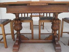 awesome Antique Dining Table 4 - Stylendesigns.com! Check more at http://stylendesigns.com/antique-dining-table-4/