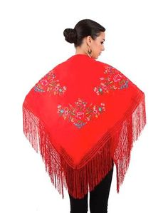 Flamenco small shawls and Andalusian small shawls - FlamencoExport