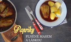 Plněné papriky jako symbol léta a lásky - Kuchařka pro dceru