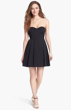 Classic black dress nordstrom