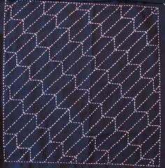 Sashiko, Arrow Feathers - Yabane